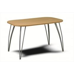 Stôl so zaoblenými hranami