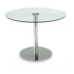 Okrúhly stôl do kaviarne