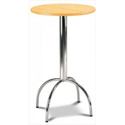 Okrúhly stôl do baru