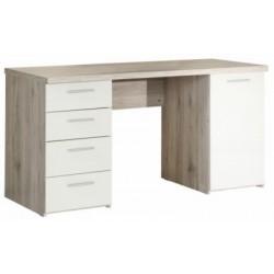 PC stolík s úložným priestorom Valeria