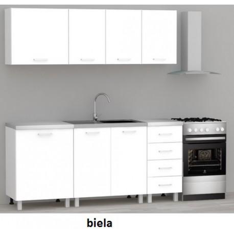 Kuchynská zostava Rea Alfa up - biela
