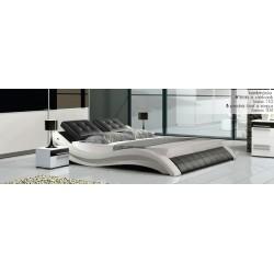 Manželská posteľ v ekokoži 180x200 cm