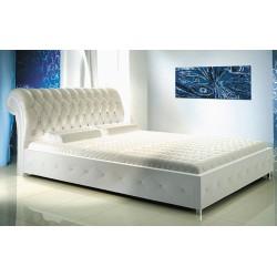 Manželská posteľ s krištáľmi