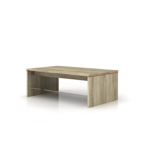 Konferenčný stolík v dubovej farbe AZTECA