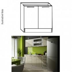 Drezová kuchynská skrinka IRYS NEW DZ-80