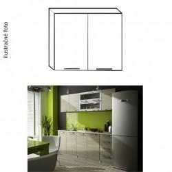 Dvojdverová horná kuchynská skrinka IRYS G-80