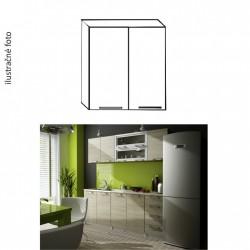 Dvojdverová horná kuchynská skrinka IRYS G-60