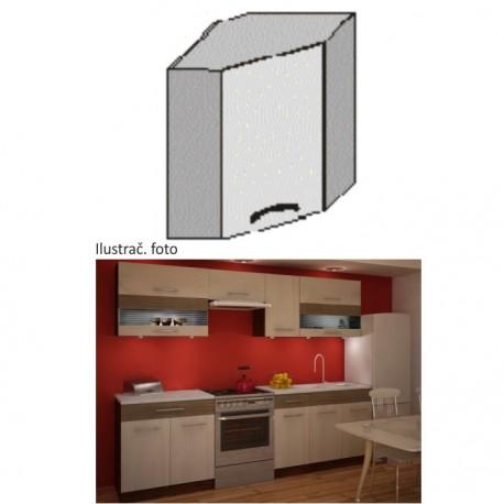 Kuchynská rohová skrinka JURA NEW
