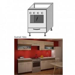Kuchynská skrinka na sporák JURA NEW