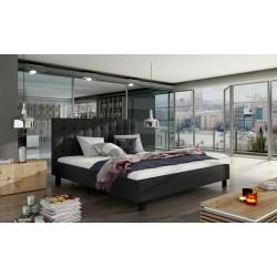 Manželská čalúnená posteľ MAURO