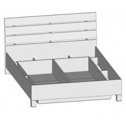 Dvojlôžková posteľ LUNA