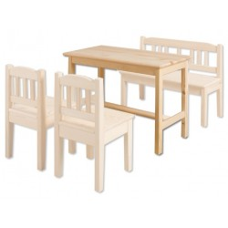 Detský stolík z masívu AD242