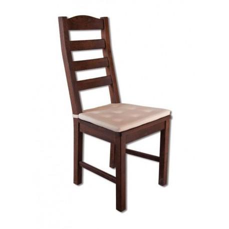Stolička z čalúneným sedákom