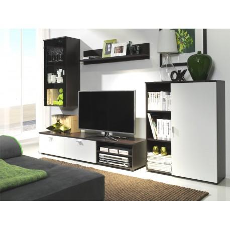 Obývacia stena DINO milano/biela
