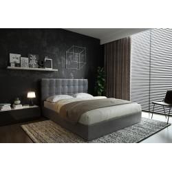 Elegantná posteľ TRIO z matracom a úložným priestorom 160x200