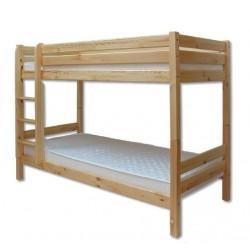 Poschodová posteľ z masívu dvojlôžková LK136 na SKLADE