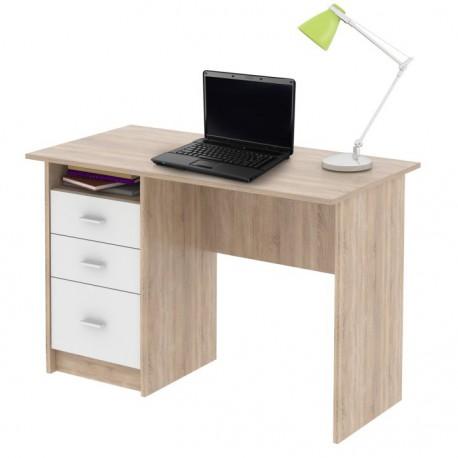 PC stôl v dvoch farbách