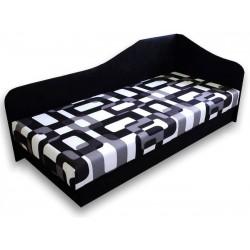Výklopná jednolôžková posteľ LUX87
