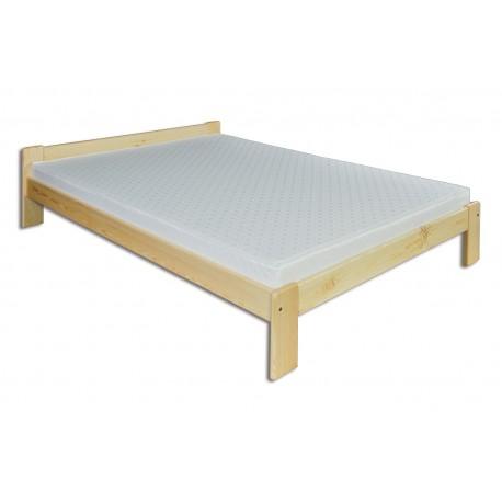 Manželská masívna posteľ LK107