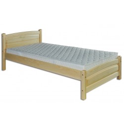 Jednolôžková posteľ z masívu LK125