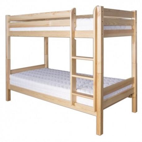 Poschodová posteľ z masívu LK136