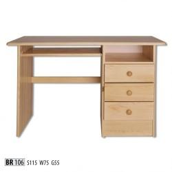PC stolík z masívu BR106