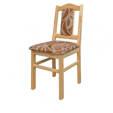 Stolička so vzorovaným čalúnením KT102