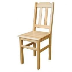 Jednoduchá drevená stolička KT103