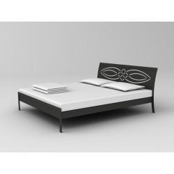 Ručne kovaná manželská posteľ