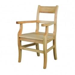 Stolička s opierkami z masívu KT115