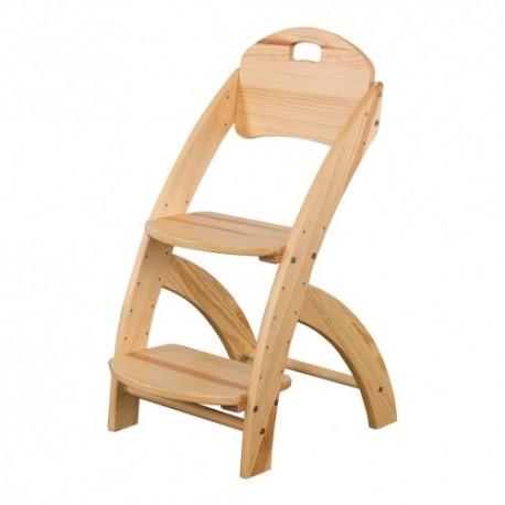 Detská stolička z masívu KT201