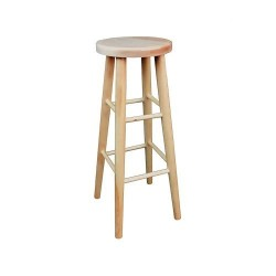 Vysoká drevená stolička KT240