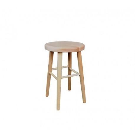 Klasická drevená taburetka KT242
