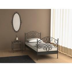 Kovaná posteľ 90x200 cm