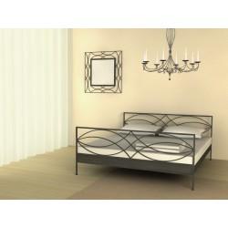 Ručne kovaná posteľ pre manželov