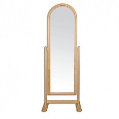 Stojanové zrkadlo z masívneho dreva LT102