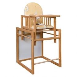 Masívna detská stolička AD220