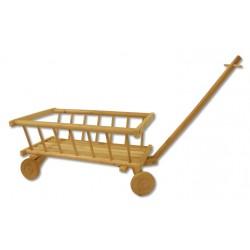 Drevený vozík z borovice AD261