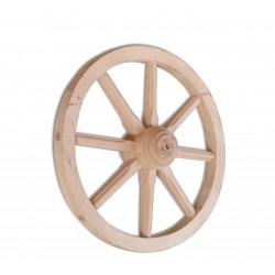 Rustikálne drevené koleso GD332