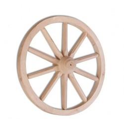 Dekorácia -  drevené koleso GD333