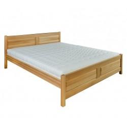 Manželská posteľ z buku LK109
