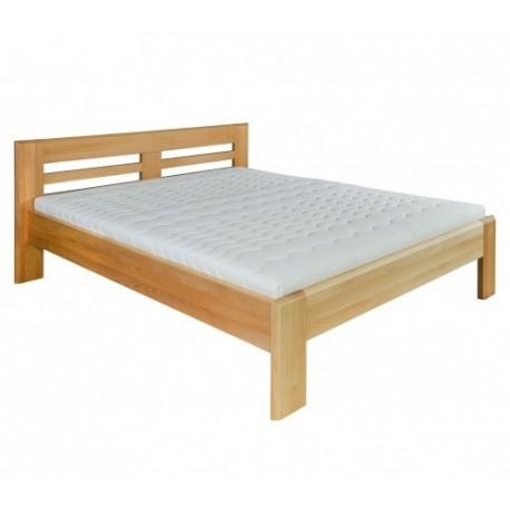 Manželská posteľ z bukového masívu LK111