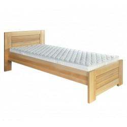 6ee7ec556a50 Jednolôžková posteľ z masívu LK161