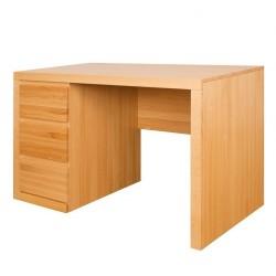 Písací stolík z masívu - dub BR301
