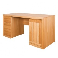 Písací stolík z masívu - dub BR302