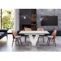 Rozkladací jedálenský stôl MASIV