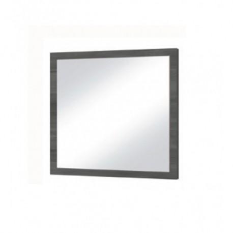 Zrkadlo zo zostavy TIENEN čierna nórska borovica