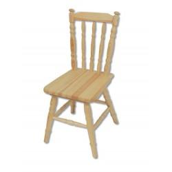 Svetlá masívna stolička