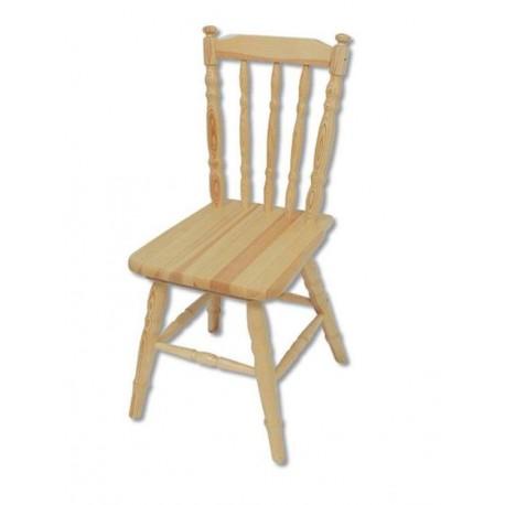 Ozdobná stolička z masívu KT105