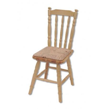 Drevená stolička s čalúnením KT106